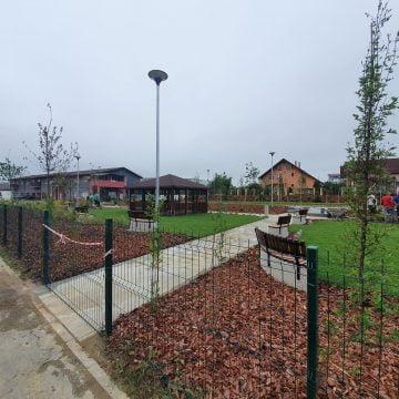 FOTO: Parcul din Subcetate, aproape gata să fie dat în folosință