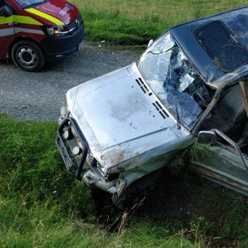 FOTO: Accident MORTAL pe un drum forestier dintre Parva și Telciu