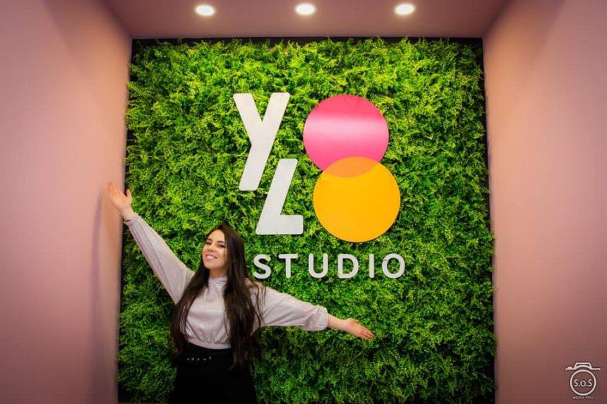 FOTO/VIDEO: Roxana Lăpuște deschide YOLO – cel mai modern studio de dans din Bistrița