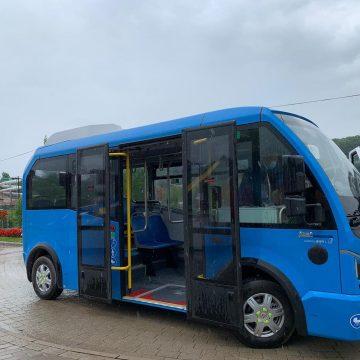 FOTO Autobuzele electrice, deja în teste la Beclean. Primăria caută șoferi