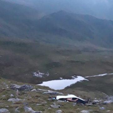 FOTO/VIDEO: Turiștii nemți nu erau la prima drumeție în Munții Rodnei! Din nefericire, prietenul lor n-a mai avut nicio șansă!