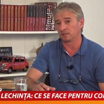 VIDEO:  O lucrare foarte importantă, pentru sute de ani de acum încolo, la Lechința