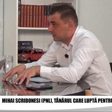 Mihai Scridonesi (PNL) vrea să cucerească Primăria Maieru. Ce proiecte de viitor are tânărul antreprenor