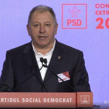 Radu Moldovan, ales vicepreședinte în noua conducere PSD, după congresul de la București
