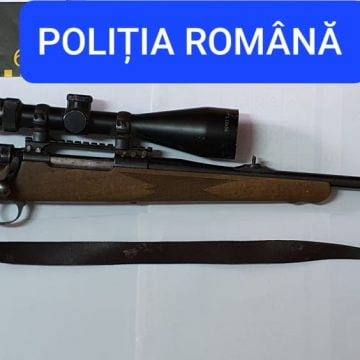 O armă modificată, găsită la Căianu Mic, în dosarul introducerii ilegale de arme în țară