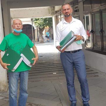 Emoții pentru Partidul Verzilor la depunerea candidaturilor!