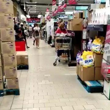 VIDEO: Cu sau fără mască, la Kaufland…?!