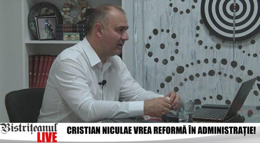 Cristian Niculae: Cine nu-și face treaba cum trebuie, pleacă din Primărie