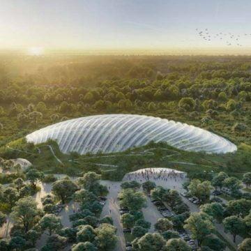 FOTO Spectaculos! Becleanul va avea o grădină urbană întinsă pe 10 hectare