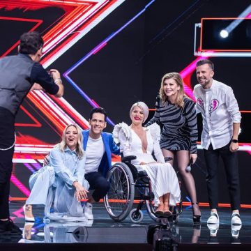VIDEO: Anamaria German a prins aripi pe scena X Factor