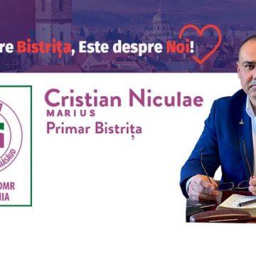 Cristian Marius Niculae (Alianța pentru BN):  Contează ceea ce rămâne în urma noastră!
