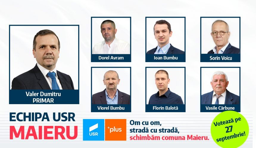 Valer Dumitru, candidat pentru funcția de primar al comunei Maieru, despre nevoia de profesionalizare a administrației locale