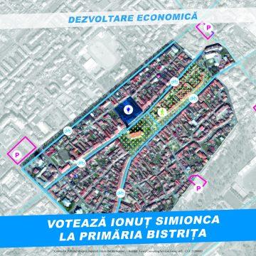 Ionuț Simionca: Universitate de IT&C și incubator de afaceri în Centrul Vechi din Bistrița
