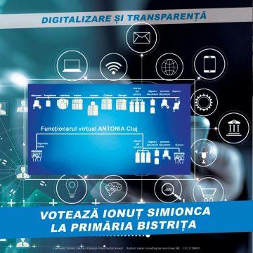 Digitalizarea administrației din Bistrița – Prioritate pentru Ionuț Simionca