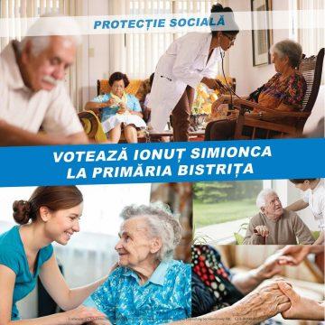 Ionuț Simionca: Pensii mai mari și centre de zi pentru pensionari în Bistrița