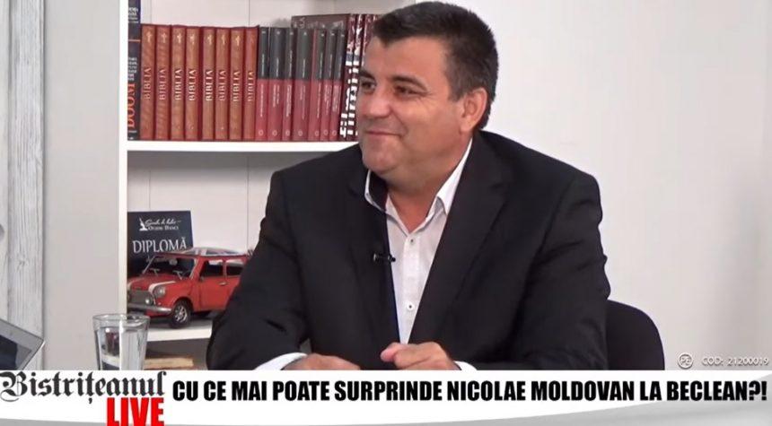 """VIDEO – Nicolae Moldovan, primarul din Beclean: """"Aici este frumusețea administrației… O greșeală pe care o fac mulți primari"""""""