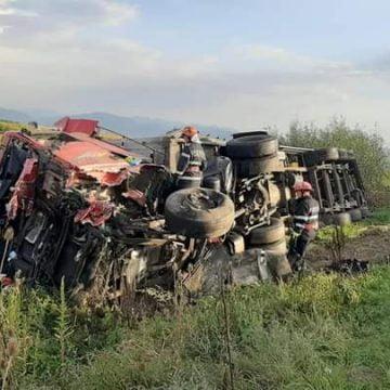 FOTO: Tânăr bistrițean implicat într-un accident mortal în județul Hunedoara!