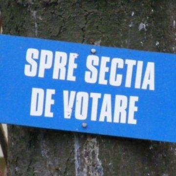 STOP VOT! Care a fost prezența la vot în județ: