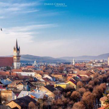 Centrul istoric – inima Bistriței
