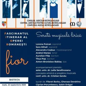 AZI, în Bistrița: O călătorie muzicală în fascinantul univers al operei românești!