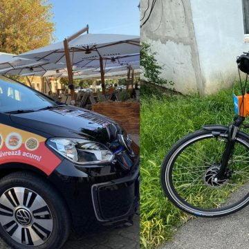 Cu mașina electrică sau pe biciclete, Jacqueline Delivery  livrează mâncarea protejând mediul în fiecare zi!