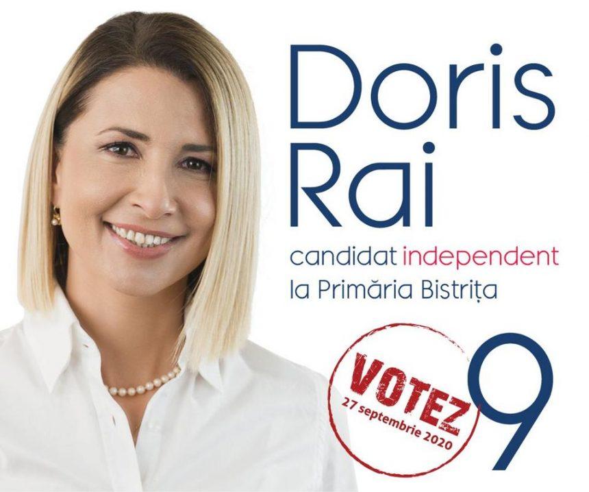 Doris Rai: Candidații independenți, schimbarea de care are nevoie România