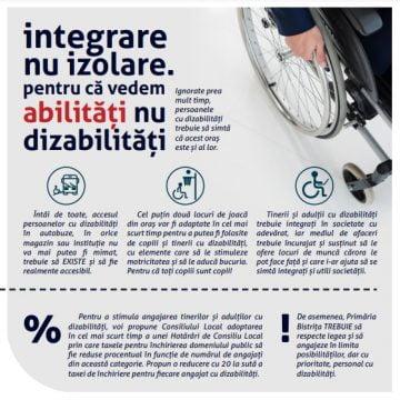 """Doris Rai, răspuns pentru Ana Dragu: """"Integrare nu izolare. Pentru că vedem abilități nu dizabilități"""""""