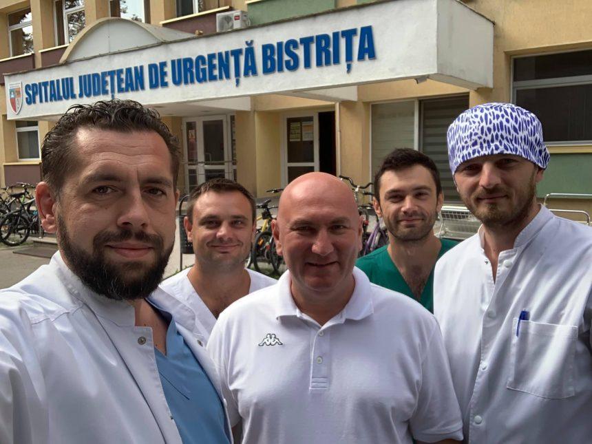 AȘA DA! Doi medici specialiști neurochirurgi, din județele vecine, au ales spitalul din Bistrița ca să profeseze!
