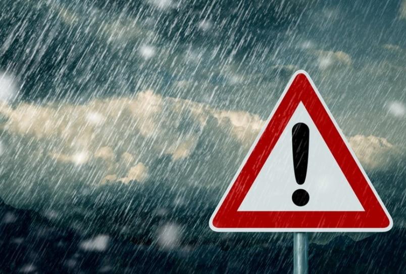 Bistrița-Năsăud, sub cod PORTOCALIU de ploi și cod GALBEN de inundații