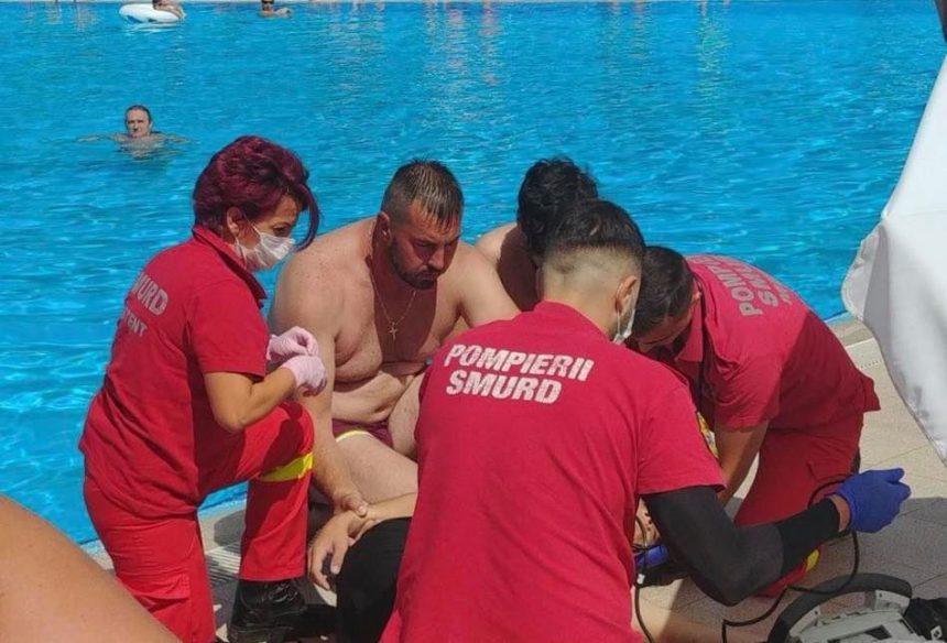 Ionuț, pompierul care a salvat un tânăr ce s-a înecat în ștrand, recompensat cu Emblema de Onoare