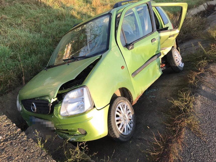 FOTO – Groapa Sărății: Accident cu o victimă blocată