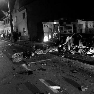 Cel de-al doilea șofer implicat în accidentul de aseară, transferat la Bistrița! CARE e starea lui: