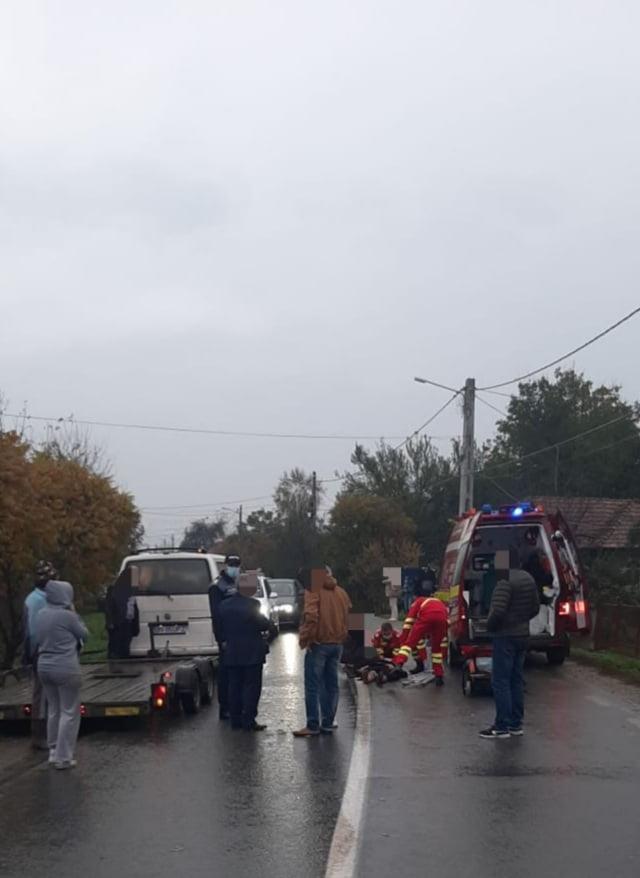 Săsarm: O bătrânică a murit, după ce a fost lovită de mașină