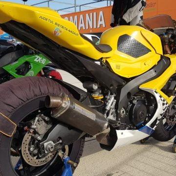 Foto/Video: Așa Da! Sorin Pop, din nou pe pistă, DAR cu motocicleta galbenă, îmbunătățită!