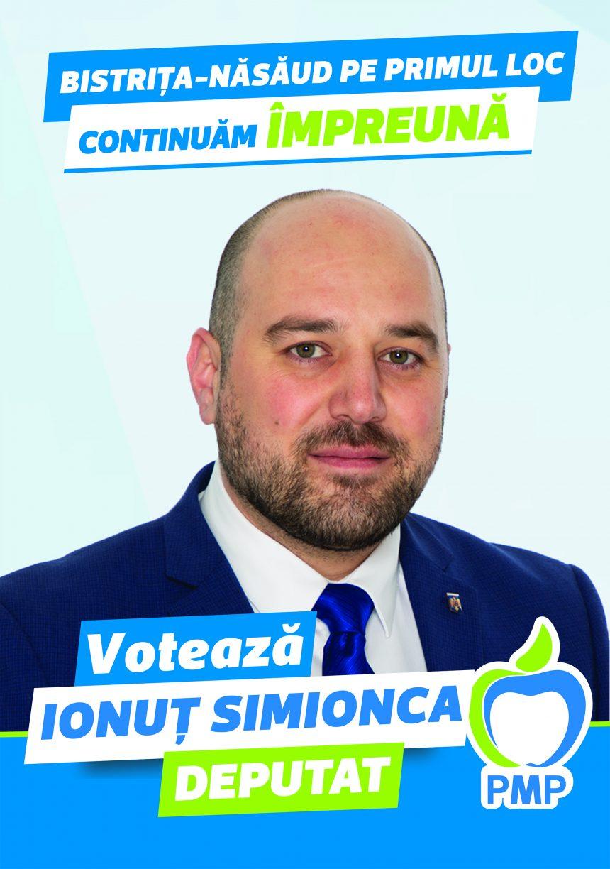 Deputatul PMP Ionuț Simionca: Eu am renunțat la pensia specială acum un an, nu în campanie pentru voturi. Demisia parlamentarilor PSD și USR, praf în ochii electoratului.