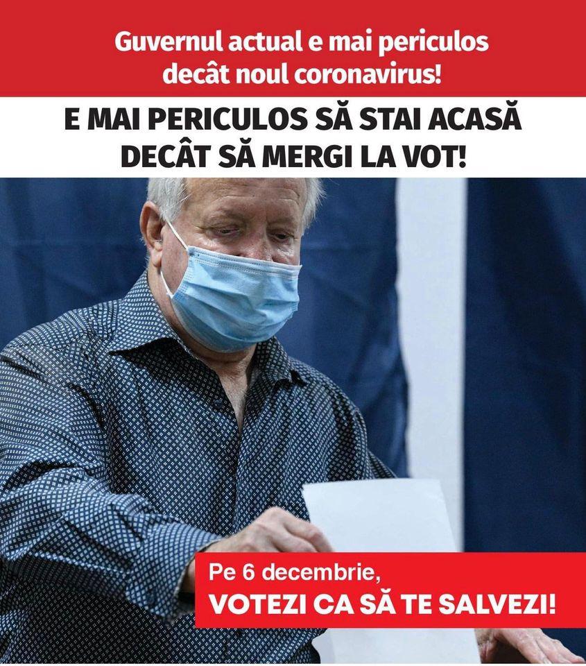 PSD BN: Câteva reguli simple pentru a vota în siguranță