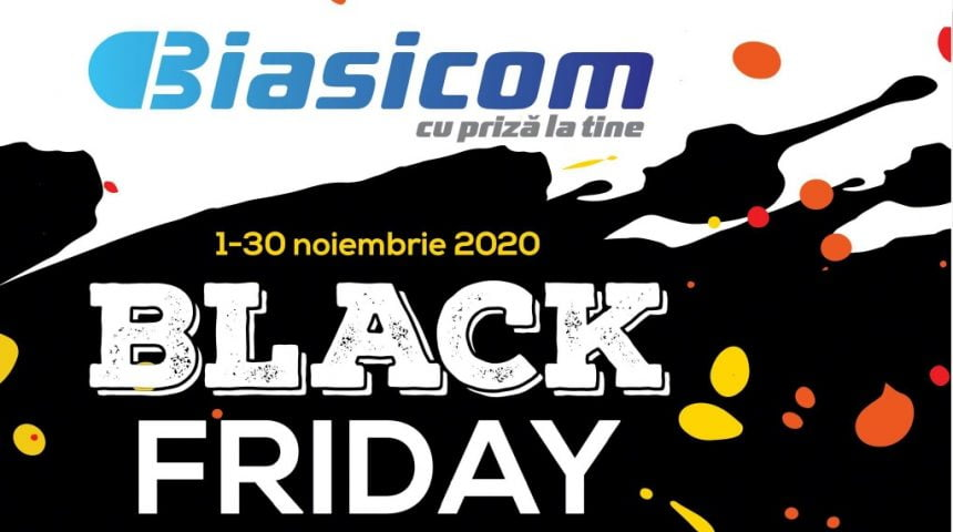 Black Friday la BIASICOM! VEZI ofertele: