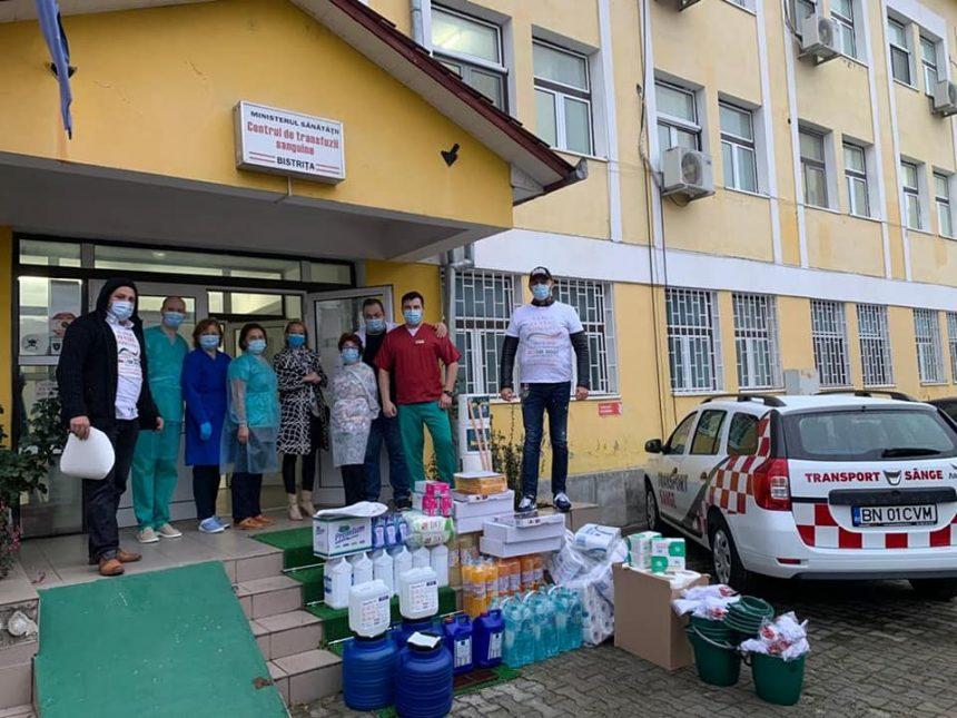 IMPRESIONANTĂ donație primită de Centrul de Transfuzii Sanguine Bistrița