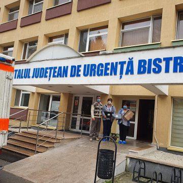 Donație neașteptată, pentru copiii internați la Spitalul Județean din Bistrița!