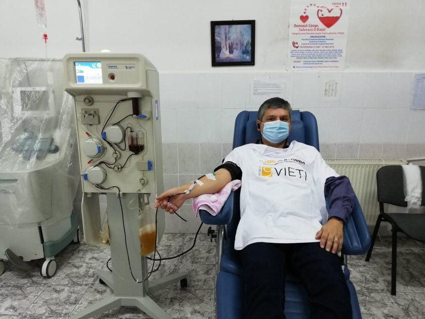 AȘA DA! Peste 20 de pacienți cu COVID 19, în stare gravă, au o șansă la viață datorită medicului Lucian Bobeanu