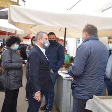 Ioan Turc: Piețele la Bistrița rămân deschise