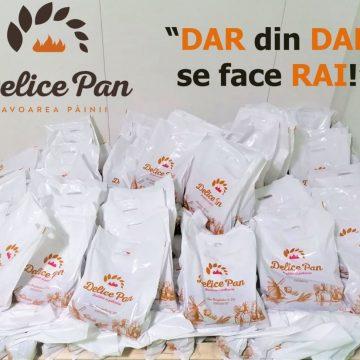 Delice Pan aduce mirosul sărbătorilor în Spitalul Județean din Bistrița!