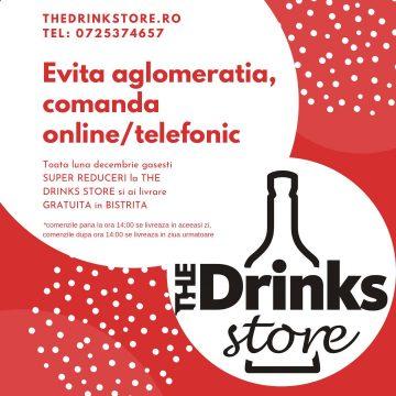 SUPER reduceri, toată luna decembrie, la The Drink Store! Oferte și idei speciale de cadouri