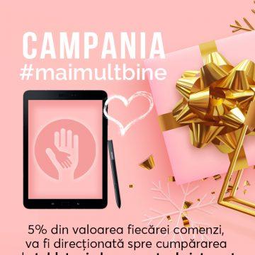 WAWA Fresh Cosmetics a demarat campania MaiMultBine…! Implică-te și TU