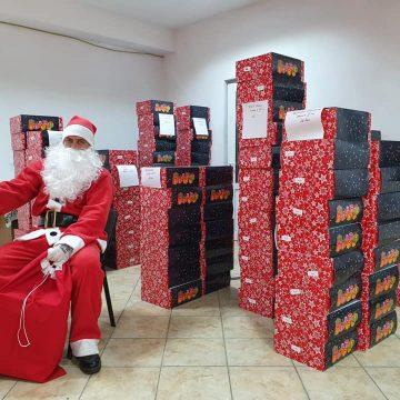 FOTO: Moș Crăciun a ajuns în comuna Căianu Mic!
