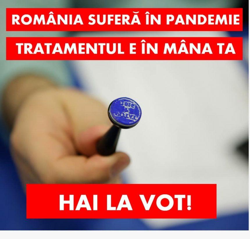 PSD BN:  Românii trebuie să iasă la vot pe 6 decembrie!