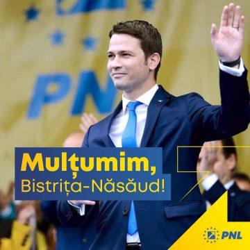 Deputatul PNL Robert Sighiartău: Le mulțumesc tututor celor care au ieșit la vot și au arătat că le pasă!