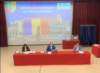 S-au ales noii vicepreședinți ai Consiliului Județean Bistrița Năsăud