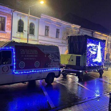 Rostul de dimineață: Caravana de Crăciun, pe străzile din Bistrița…