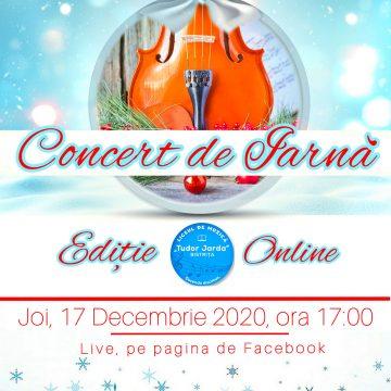 CONCERT extraordinar de iarnă, mâine, la Bistrița!